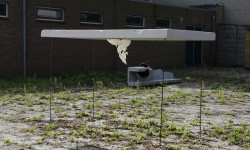 APPENDIX, polystyreen, polyurethaan, 230 x 112 x 130 cm, 2014